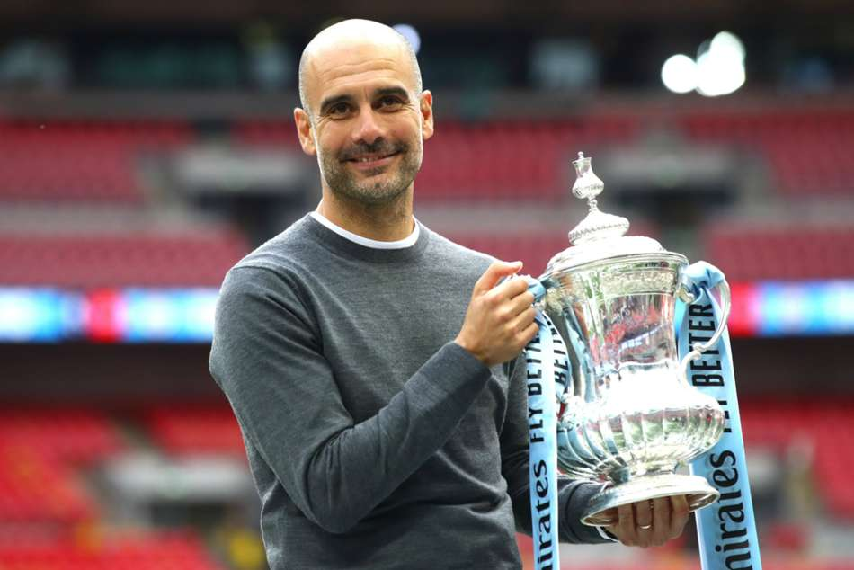 Guardiola Ends Juventus Speculation I Am A Blue Shirt I Am One Of Yours Man City
