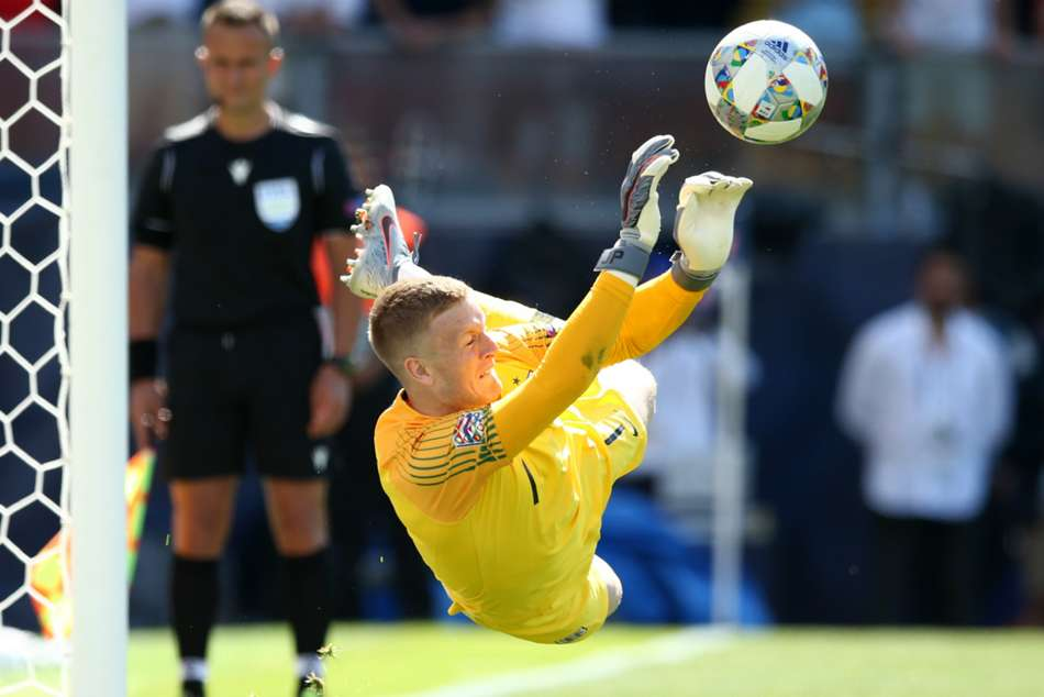 Switzerland 0 England 0 Aet 5 6 On Penalties Pickford Denies Drmic To Earn Three Lions Third Place