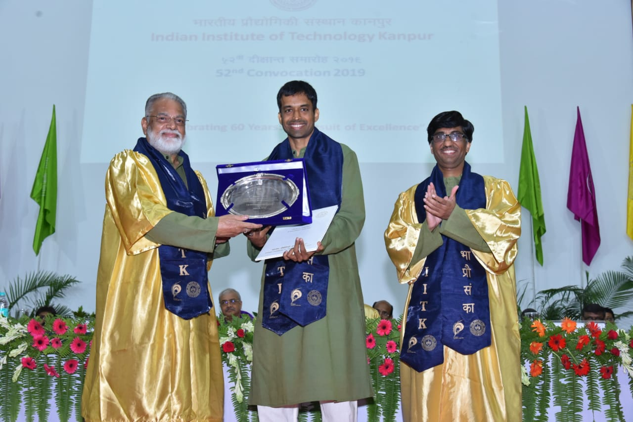IIT Kanpur honours Pullela Gopichand with honorary doctorate