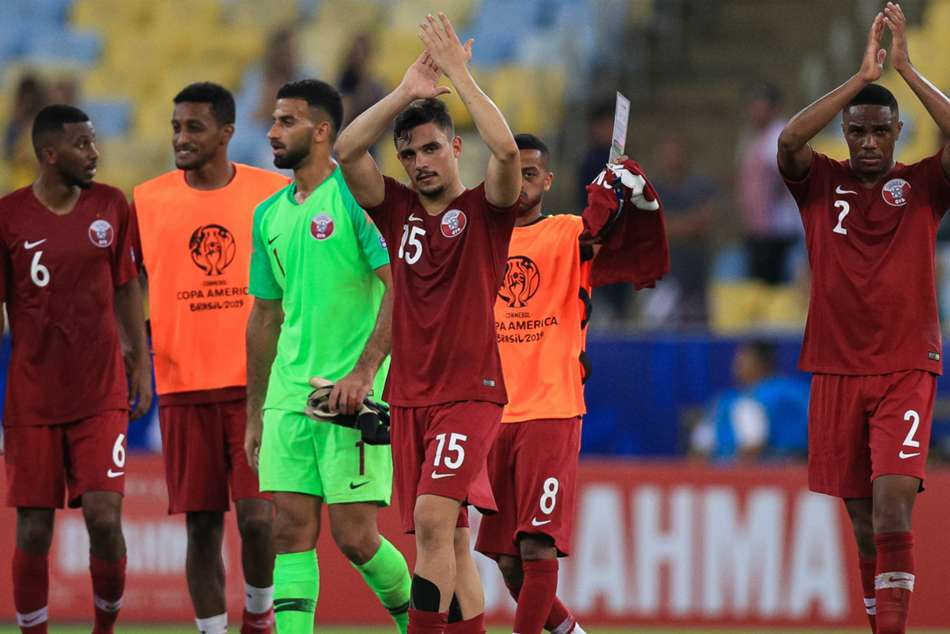 Qatar overturned a two-goal deficit to earn a shock 2-2 draw against Eduardo Berizzos Paraguay