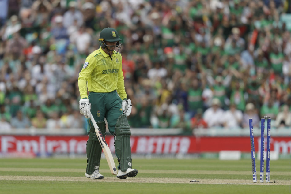 Icc Cricket World Cup 2019 Du Plessis Tells South Africa S Players To Focus On The Future