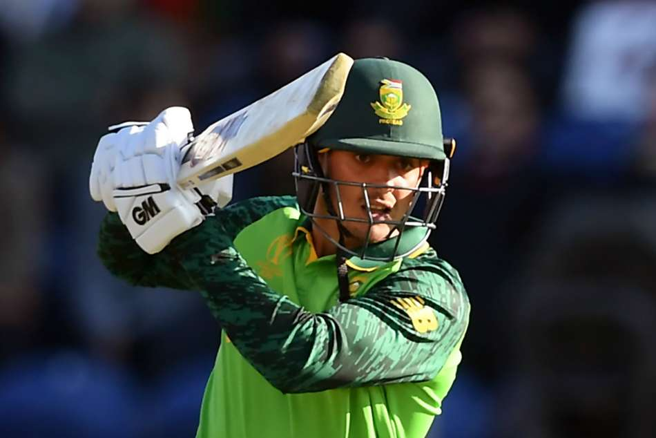 ICC World Cup 2019: De Kock steers Proteas to first win after Afghanistan collapse