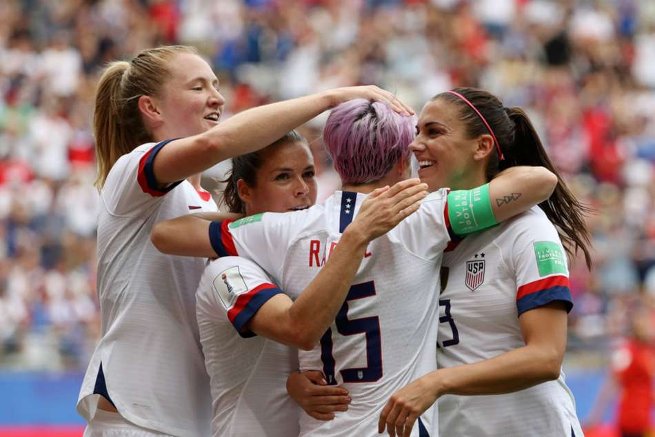 Womens World Cup Megan Rapinoe Sets Up United States France