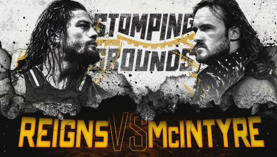Potential Spoilers From Wwe Stomping Grounds Marquee Matches