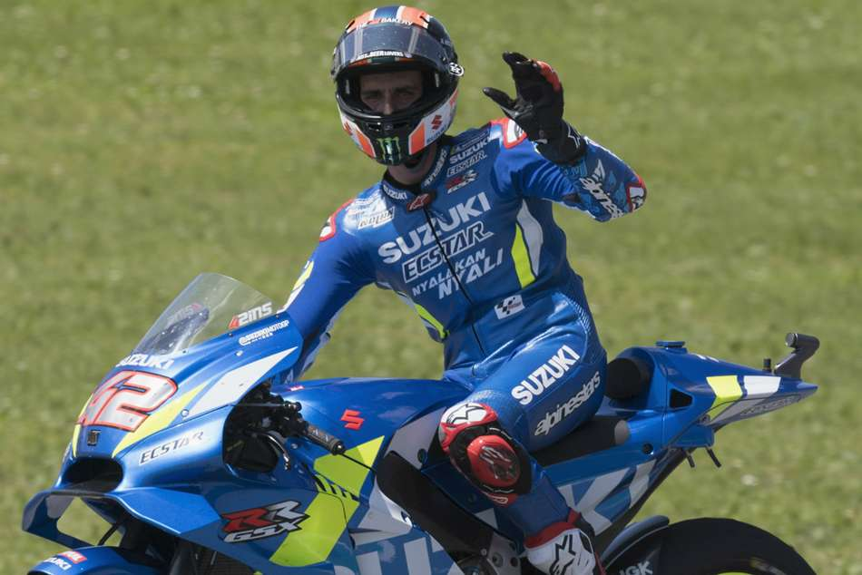 Rins Strong Catalunya Challenge Alex Maverick Vinales Motogp