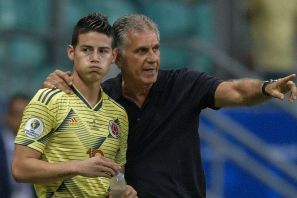 Copa America Colombia V Chile Queiroz Warns Defending Champions
