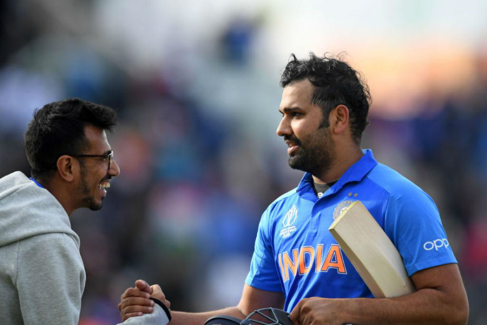 Rohit Sharma powered India to victory over South Africa with an unbeaten century (Image Courtesy: CWC Twitter)