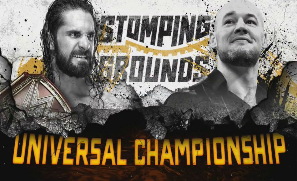 Big surprise await us at Stomping Grounds main event (image courtesy Twitter)