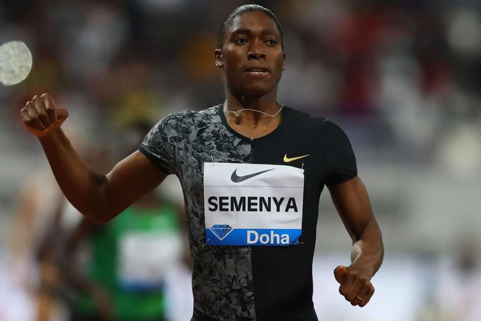 Caster Semenya dominated in the 2000 metres at the Meeting de Montreuil