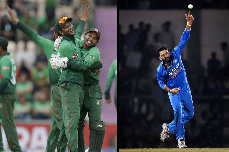 ICC World Cup 2019: Shakib Al Hasan equals rare feat achieved by Yuvraj Singh for best all-round performance
