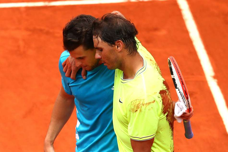 French Open Mens Final Reaction Rafael Nadal Getting Better Dominic Thiem