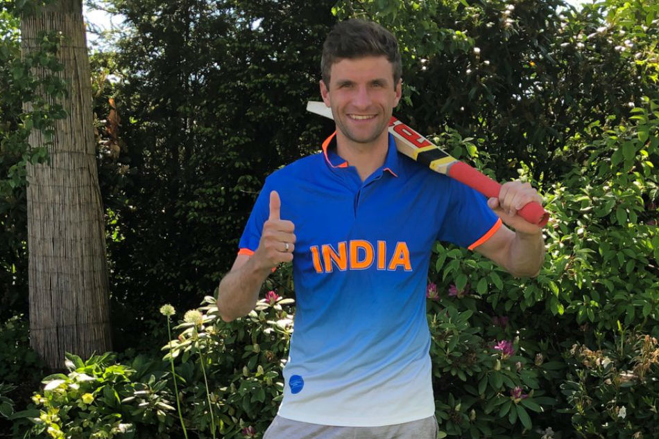 Bayern Munich Germany Star Mueller Backs Indian Cricket Team In World Cup