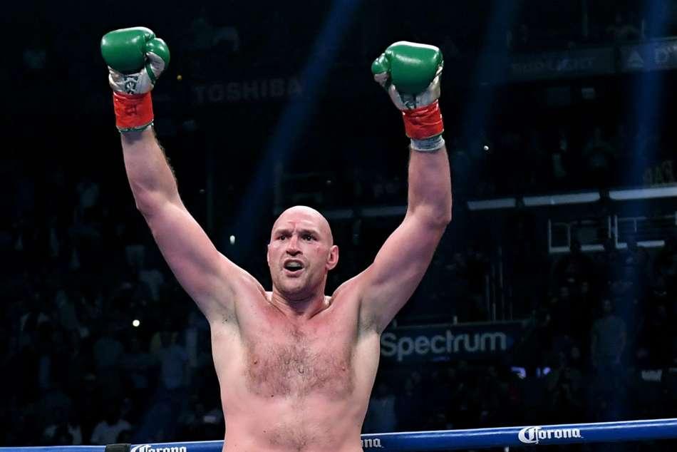 Tyson Fury Tom Schwarz Second Round Tko