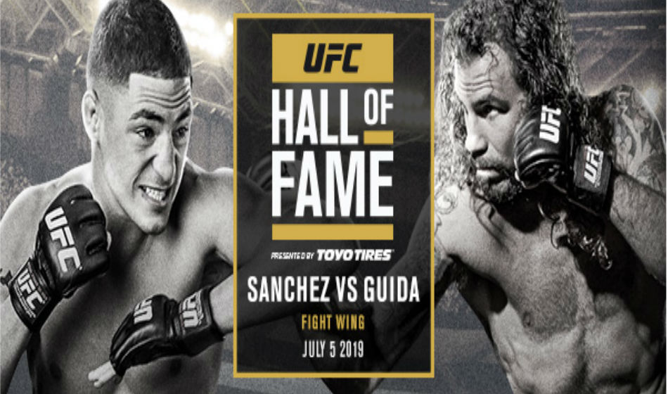 Fight Between Diego Sanchez And Clay Guida To Be Inducted Into Ufc Hall Of Fame