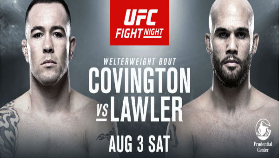 Ufc Returns To Newark With Pivotal Welterweight Bout