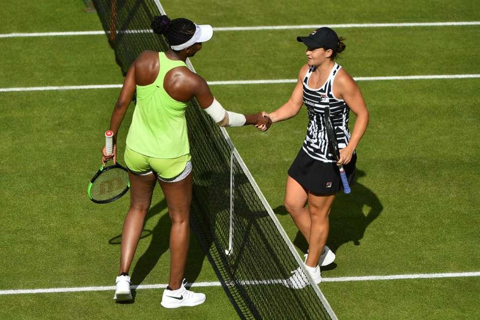 Ashleigh Barty Fends Off Venus Williams In Birmingham Classic Wta World Number One