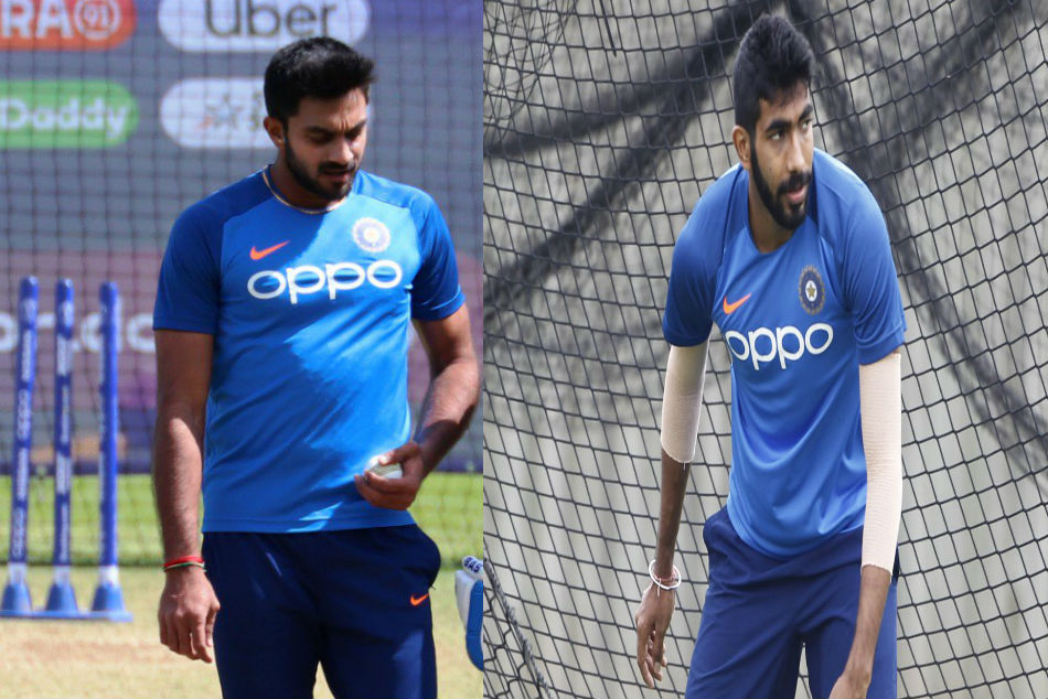Icc World Cup 2019 Jasprit Bumrah S Toe Crushing Yorker Injures Vijay Shankar Practice Session