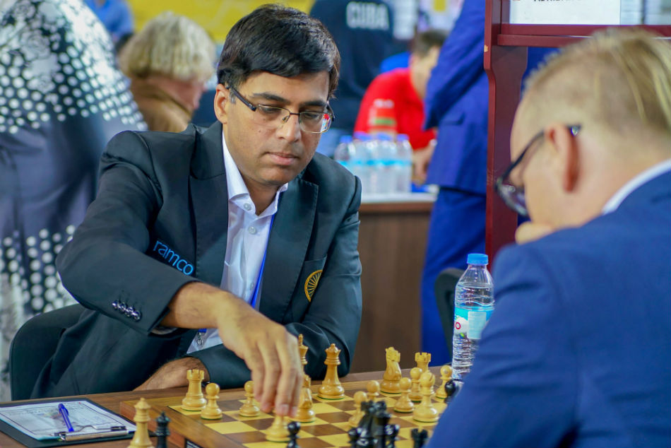 Viswanathan Anand To Lead Strong Indian Team For Grand Swiss Tournament