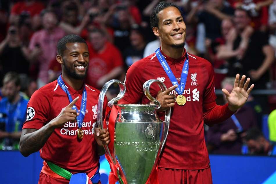 Liverpools Van Dijk Wijnaldum Welcomed By Netherlands