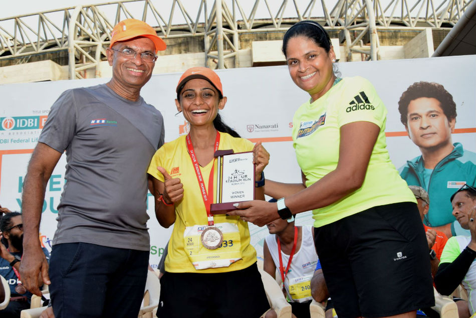 Hours Stadium Run Narender Ram Priyanka Bhatt Emerge Winners