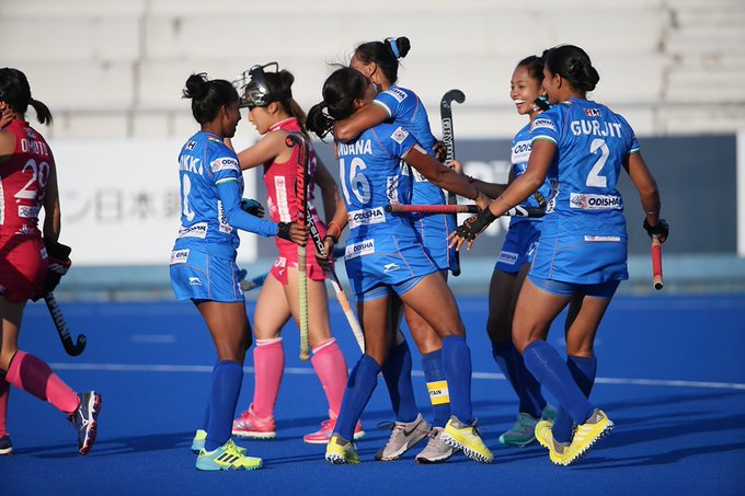 India women's hockey team beats Japan 3-1 to win FIH Series Finals