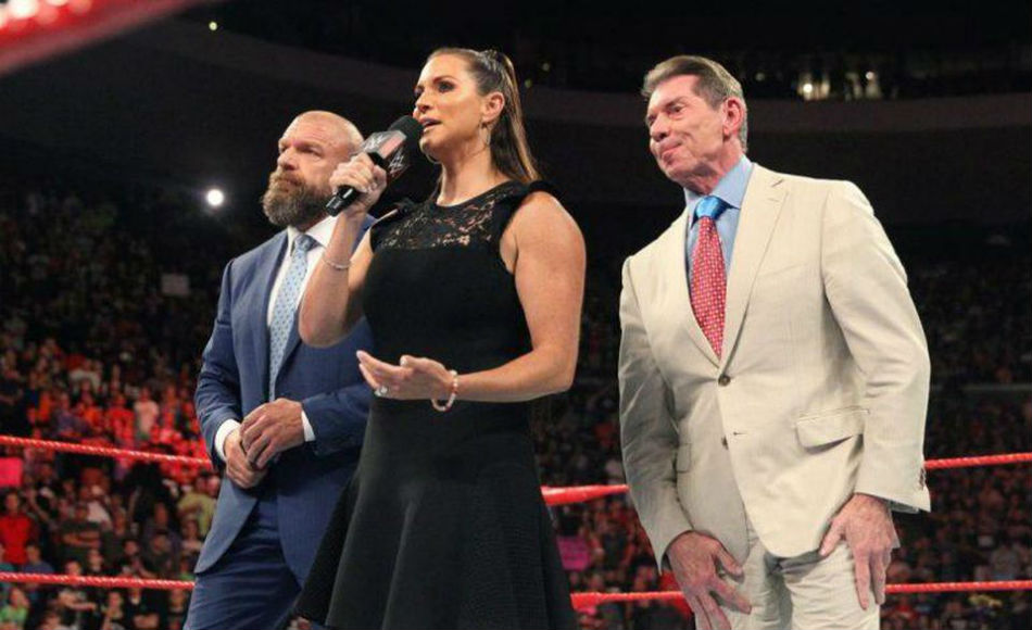 The McMahons (image courtesy WWE)