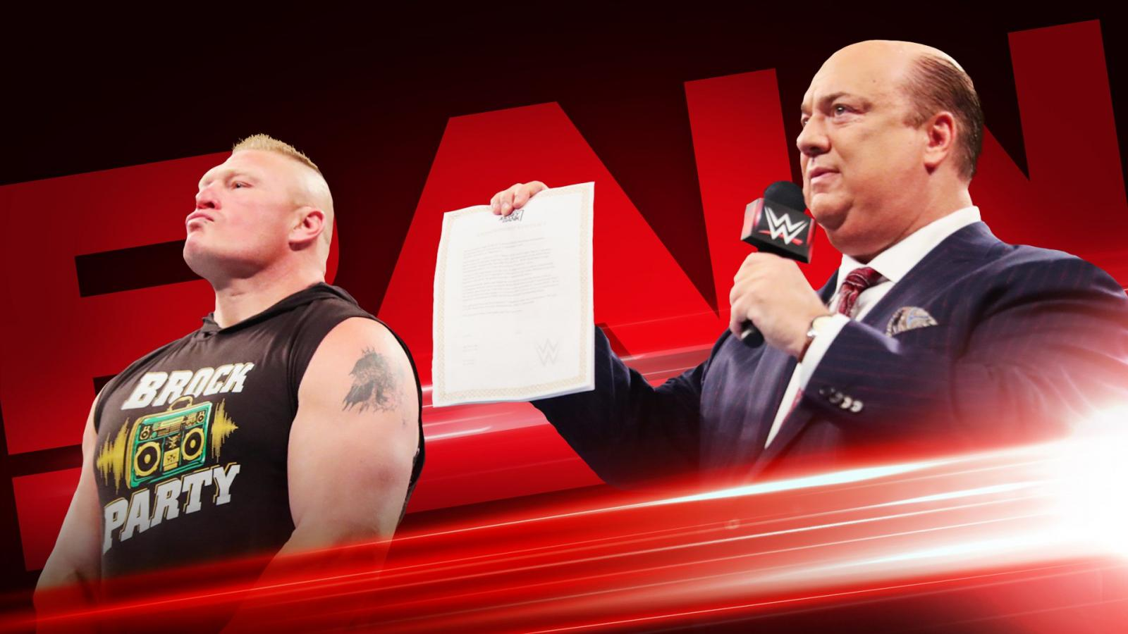 Brock Lesnar invoking MITB contract tonight on Raw? (image courtesy WWE.com)