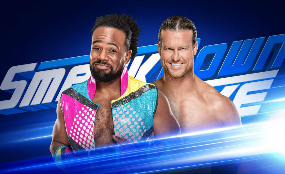 Woods tackles Ziggler on Smackdown (Images: WWE.com)