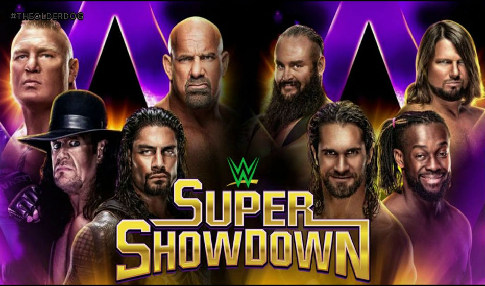 Wwe Super Showdown 2019 Match Card With Predictions
