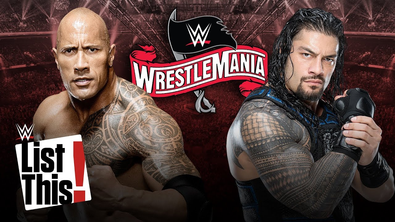 Roman Reigns vs. The Rock dream match happening at Wrestlemania 36? (courtesy Youtube)