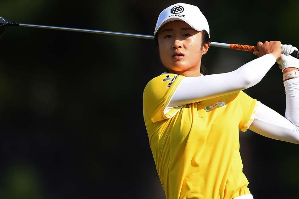 Yu Liu climbed into seven under at the Country Club of Charleston