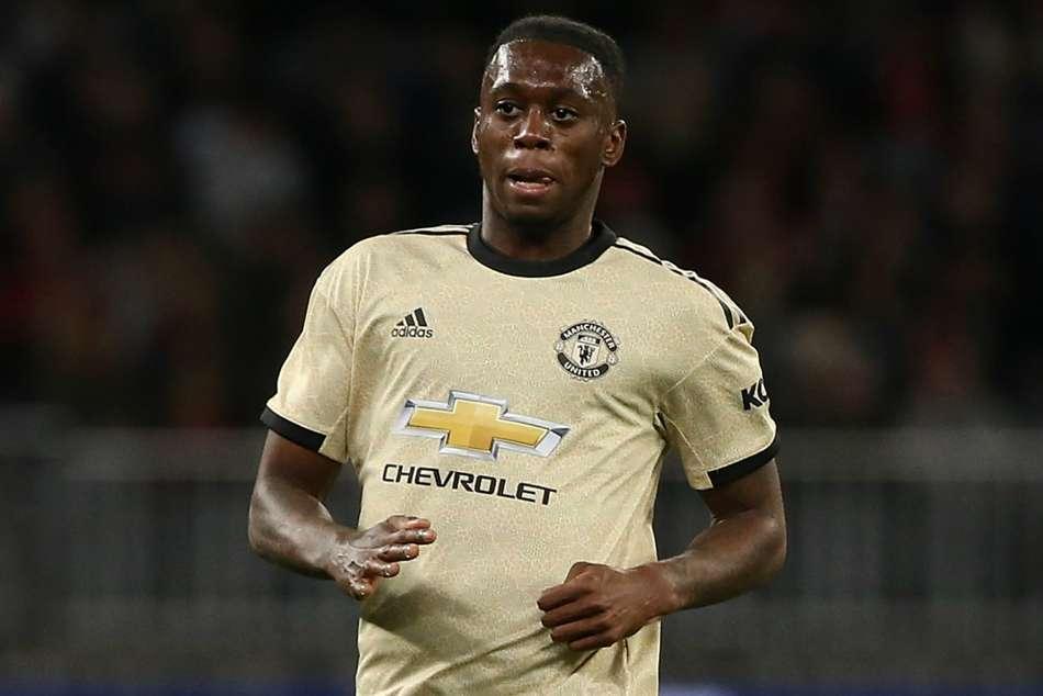 Wilfried Zaha Aaron Wan Bissaka Manchester United
