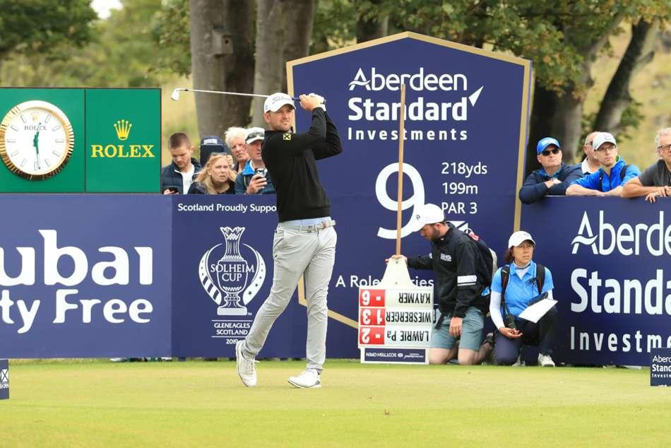 Scottish Open European Tour Bernd Wiesberger Joint Lead