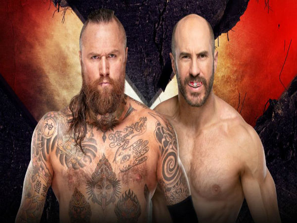One-on-One Match: Aleister Black vs. Cesaro