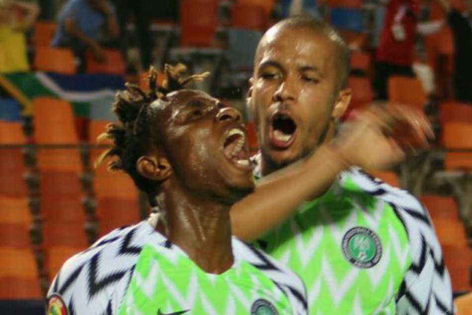 Nigeria 2 South Africa 1 Samuel Chukwueze Africa Cup Of Nations
