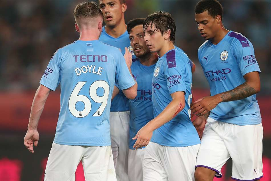 Sterling scores twice as Manchester City outclass West Ham in pre-season