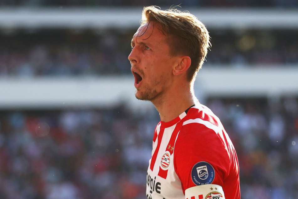 Netherlands and PSV striker Luuk de Jong