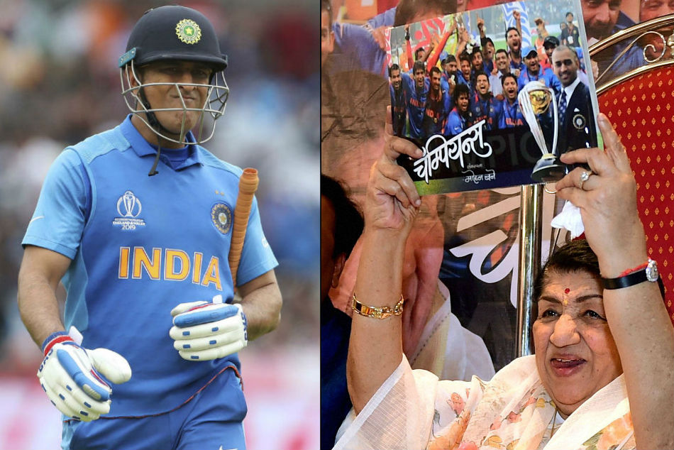 ICC World Cup 2019: Lata Mangeshkar urges MS Dhoni not to retire, fans trend #donotretiredhoni on Twitter