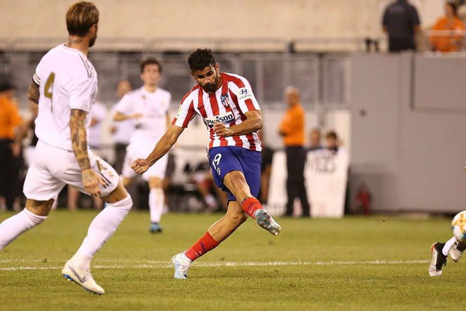 Diego Costa starred for Atletico Madrid