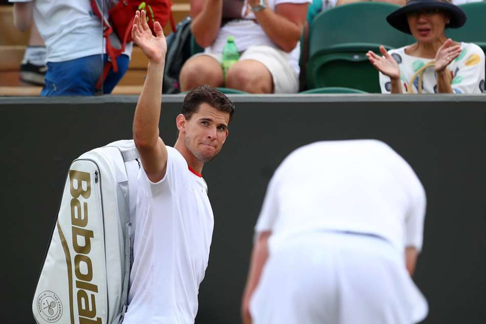Thiem Suffers More Wimbledon Misery Against Dominant Querrey