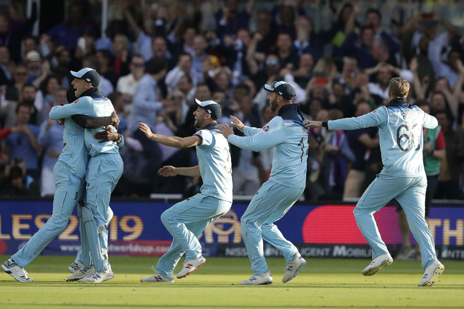 England's first cricket World Cup victory is as controversial as its only football title