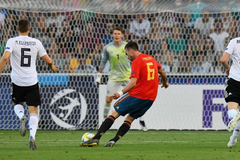 Spain U21 2 Germany U21 Fabian Ruiz Dani Olmo