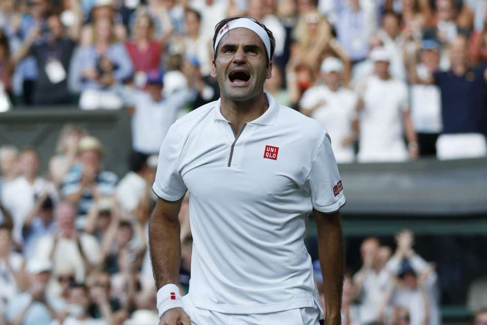 Roger Federer Rafael Nadal Wimbledon Semi Final