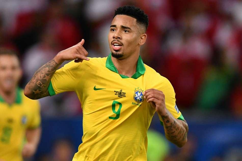 Brazil Peru Gabriel Jesus Richarlison Copa America