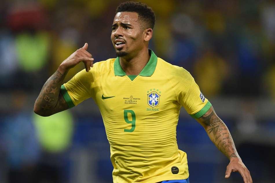 Brazil Argentina Gabriel Jesus Copa America