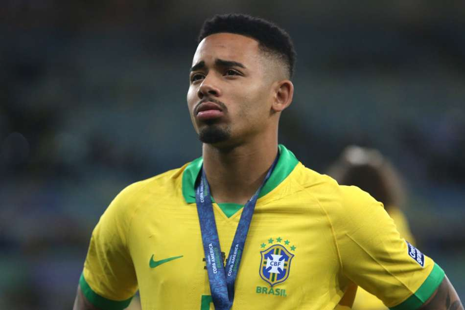 Gabriel Jesus Brazil Apologises Copa America Final Red Card Outburst
