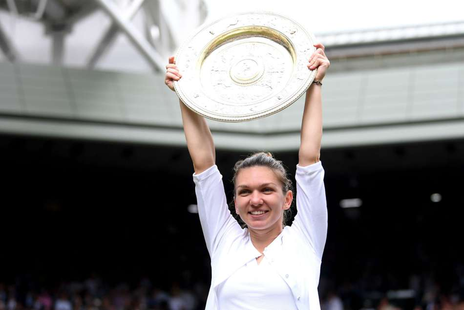 Simona Halep claimed her first Wimbledon title on July 13