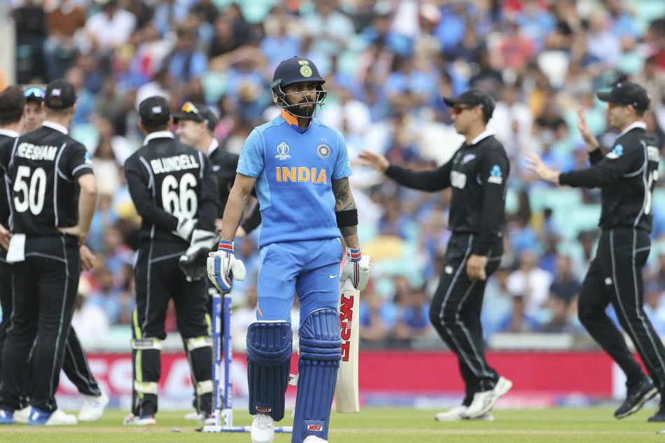 New Zealand Beat India In The Only Icc Knockout Tie So Far