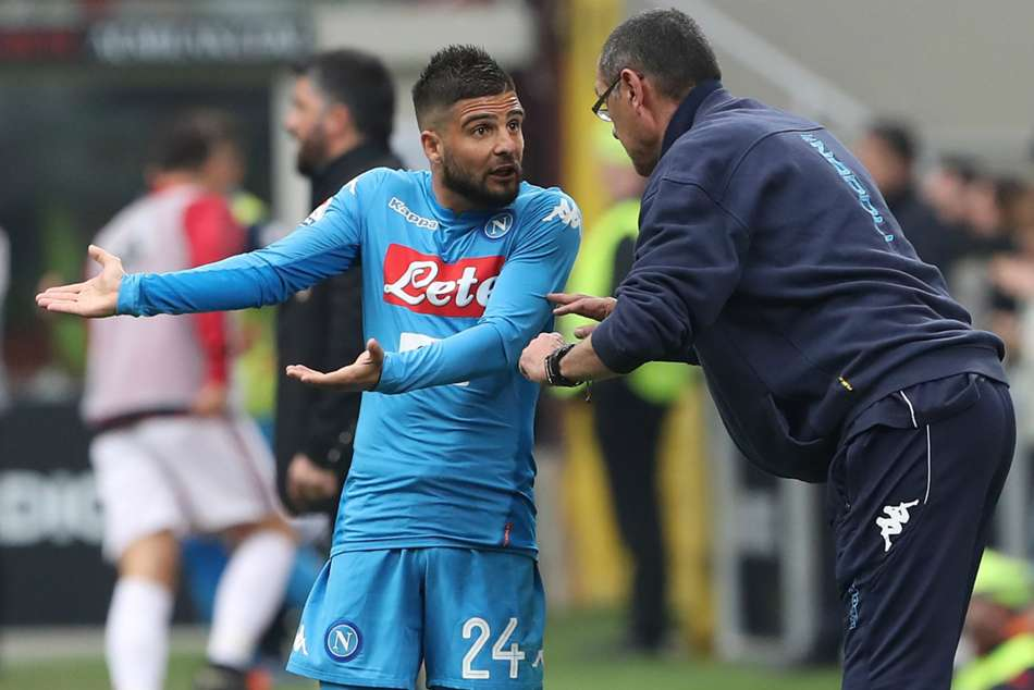 Sarri betrayed Napoli by joining Juventus – Insigne
