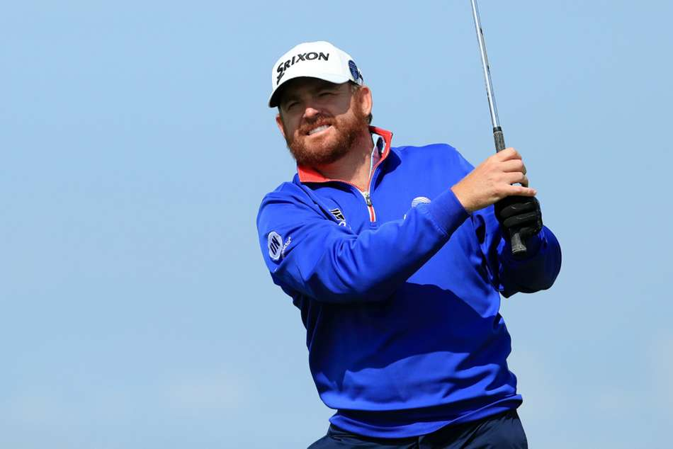 The Open 2019 Holmes Takes Surprise Open Lead On A Day Of Misery For Mcilroy And Woods